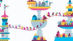 Hohokum PS4, PS3, and Vita Review: Floating Free