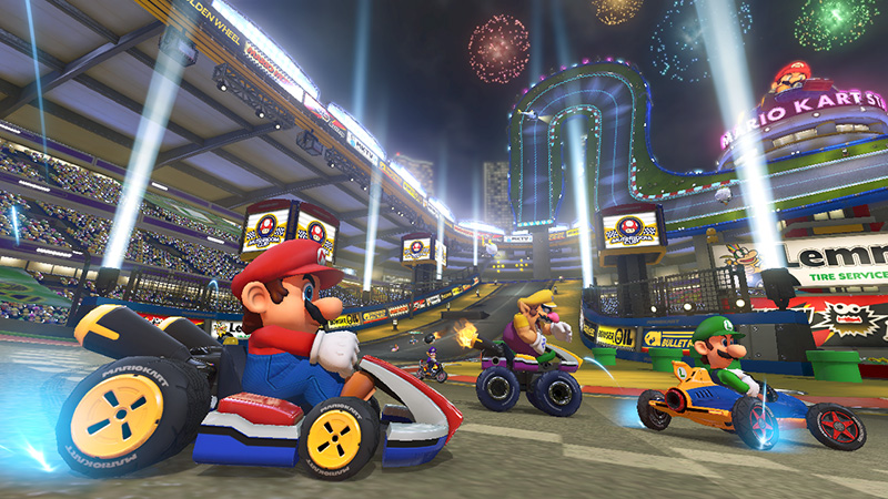 Mario Kart 8 Deluxe Boost Tips How To Slipstream Jump