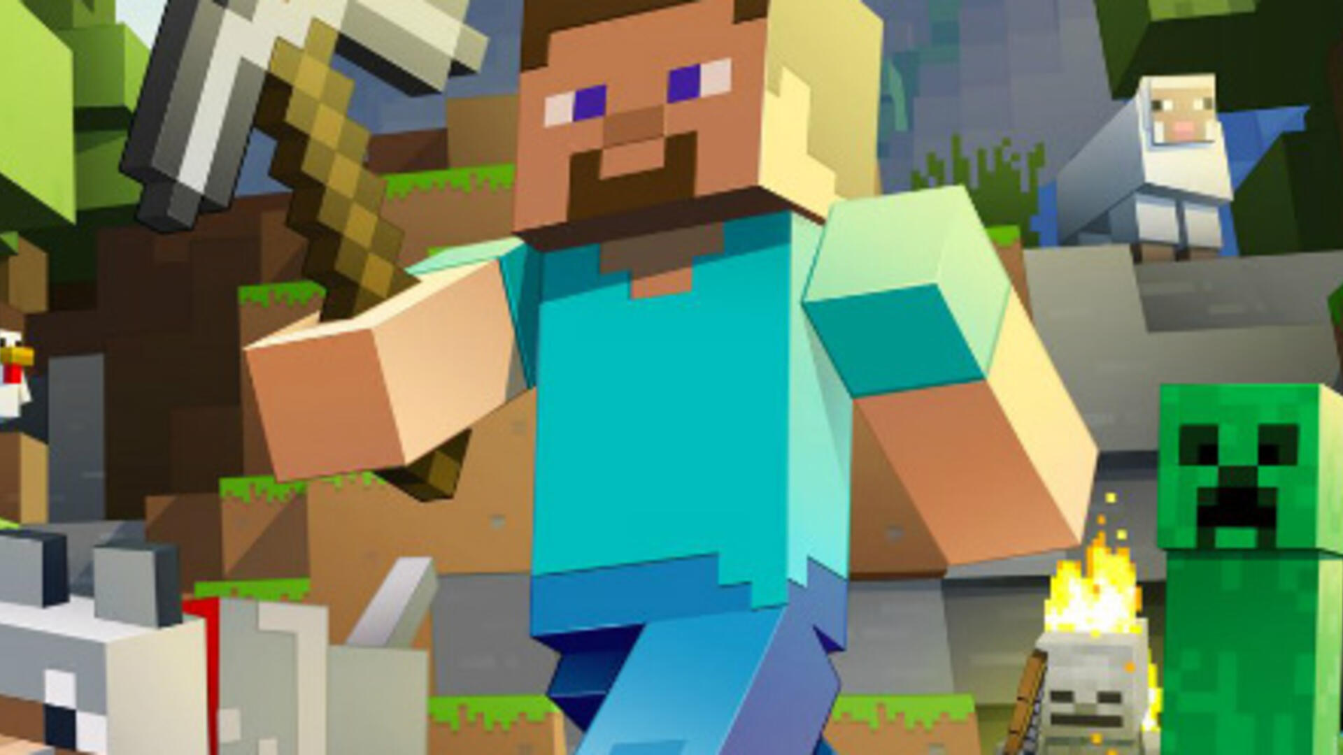 Minecraft Still Holds Significant Lead Over Fortnite's Monthly Active Player Count