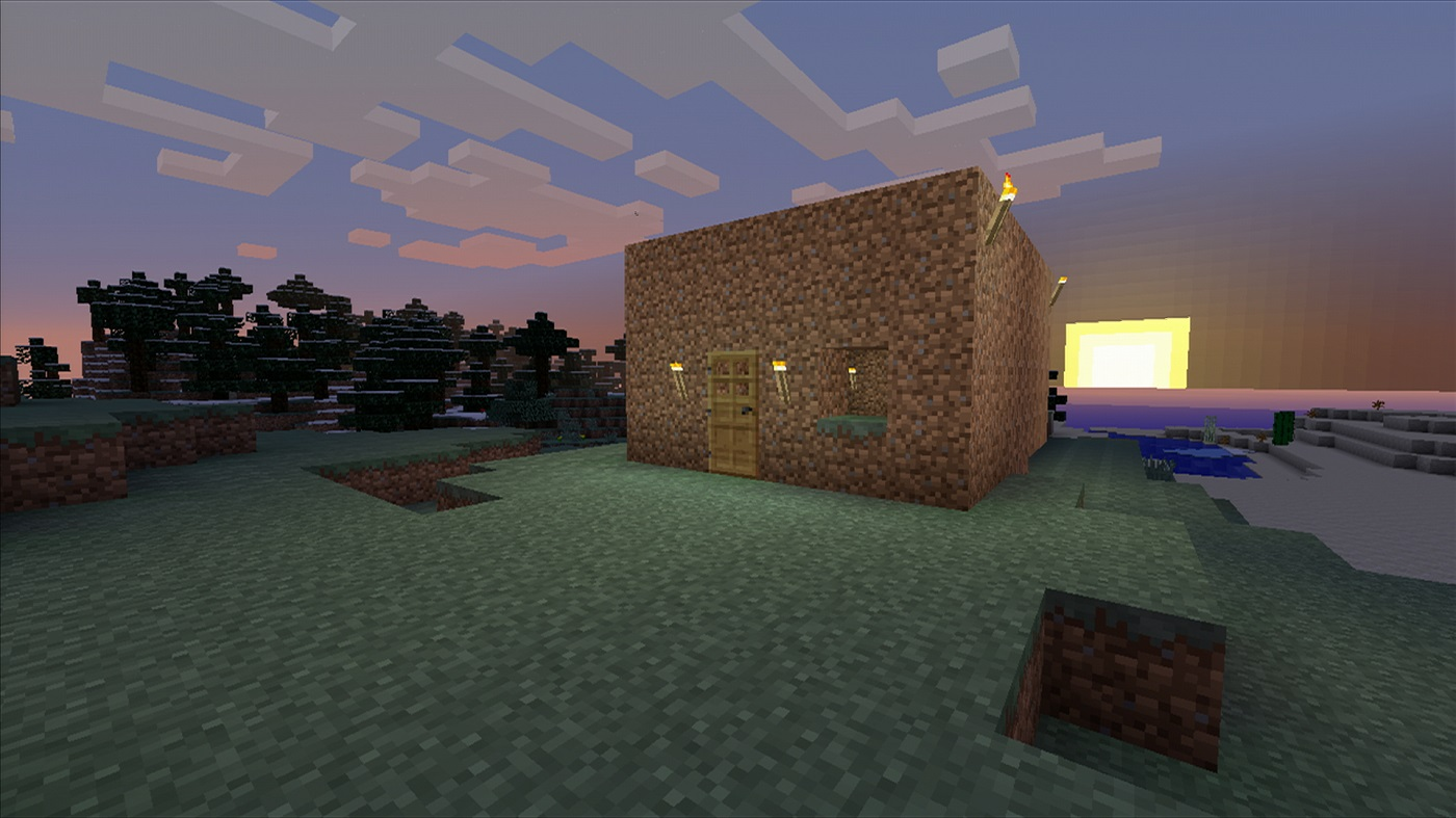 The Gateway Guide To Minecraft Surviving Your First Night And Seeds For Beginners Usgamer