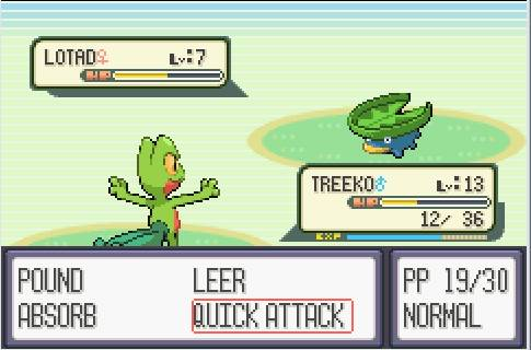 Pokémon Emerald Version Gameplay Screenshot
