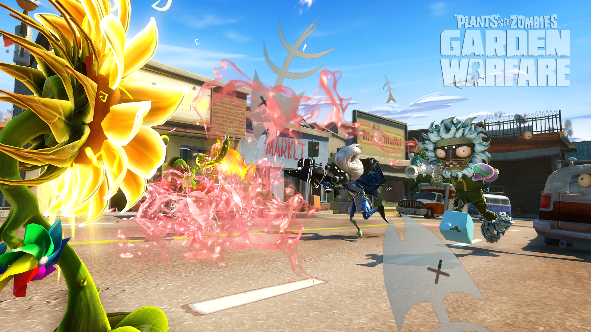 Plants vs zombies garden warfare xbox one review guns - Plants vs zombies garden warfare xbox one ...
