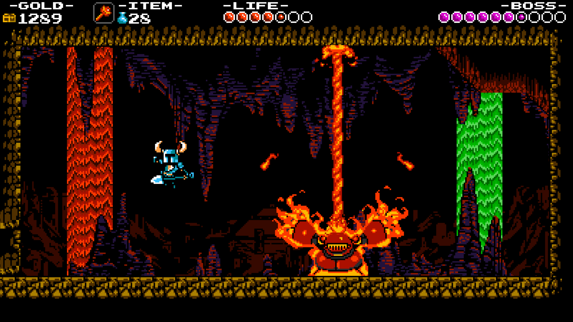 Shovel Knight Pc Review Digging Up The Past To Find Buried Treasure