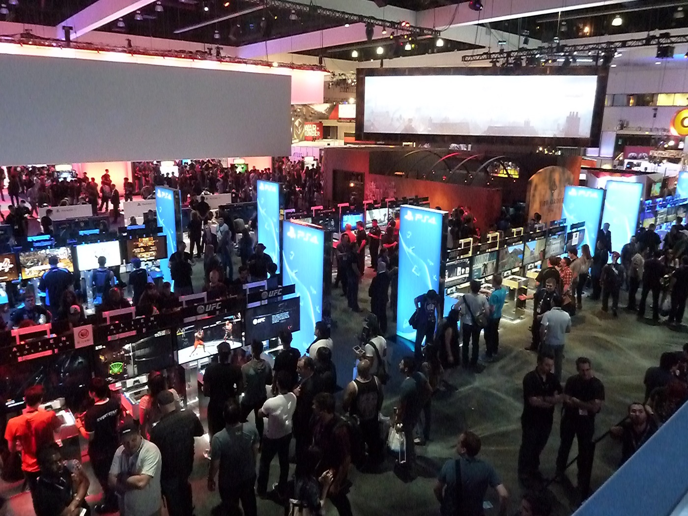 The E3 Booth Report: Sony | USgamer
