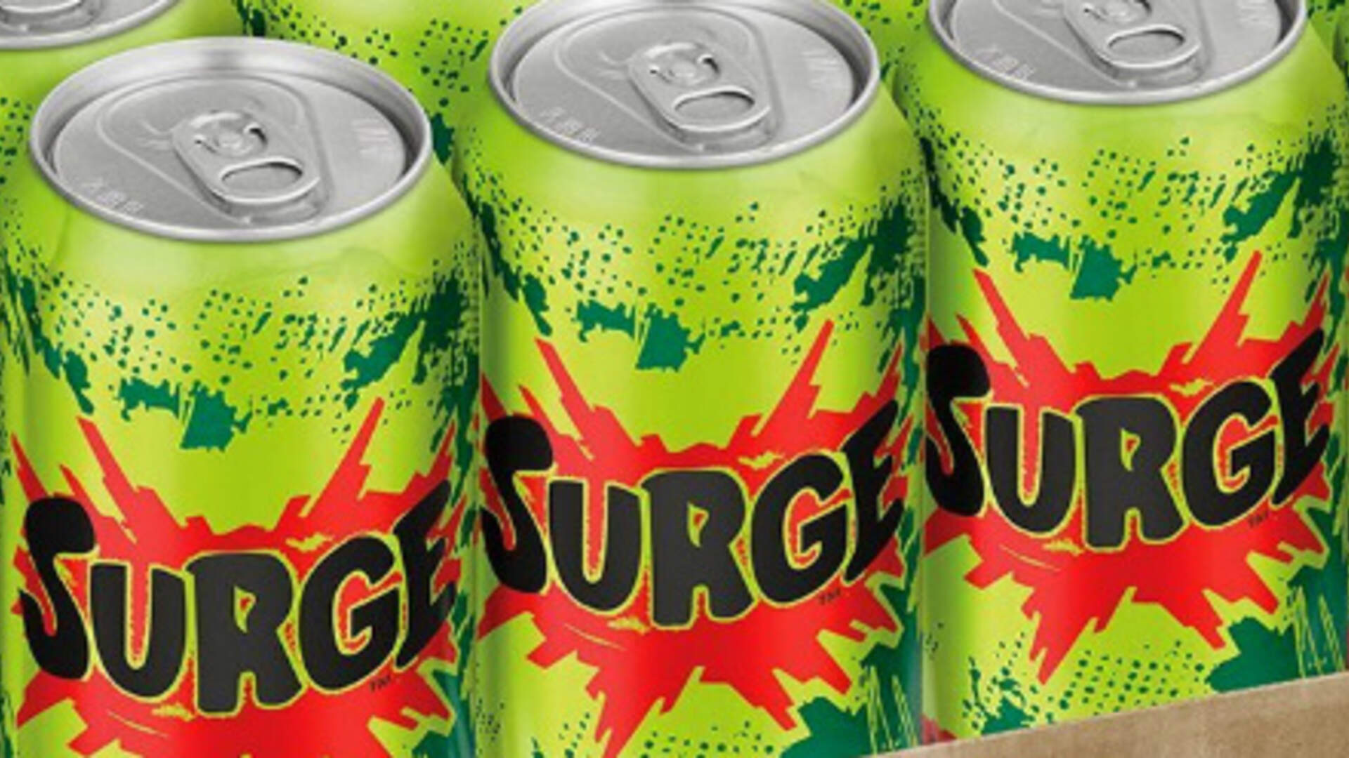 Surge is Back! Coca-Cola Re-Releases a Late-Night Gaming Staple