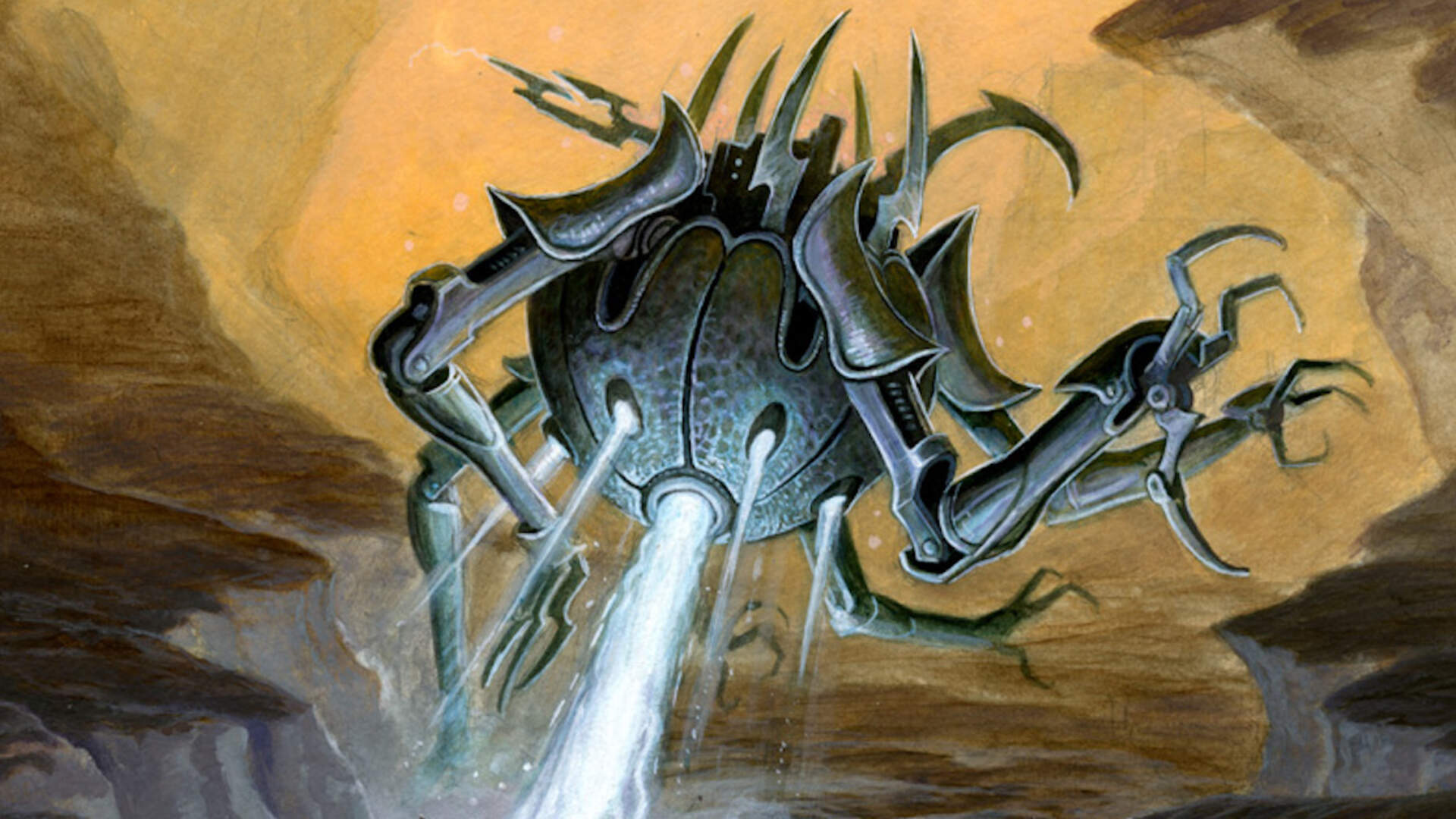 Thunderstone Advance: Numenera Board Game Review: Strong Glaive Who Deckbuilds