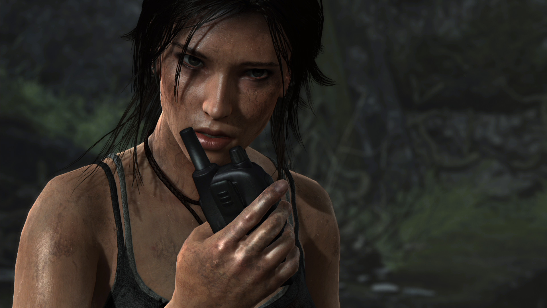 Tomb Raider De Screenshot on Engine Internals Wallpaper
