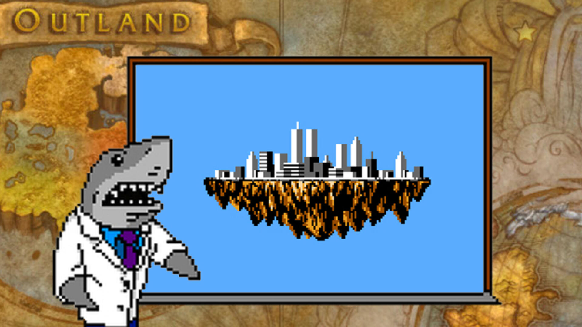 Professor Sharkey's Bad Game Science: Exactly How Big Are Videogame Worlds?