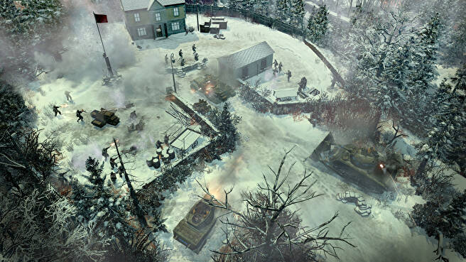 70 - Company of Heroes 2: Ardennes Assault PC Review: Total War