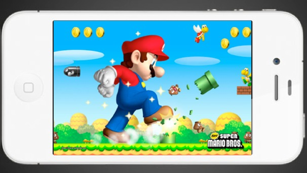 how to get mario games on iphone
