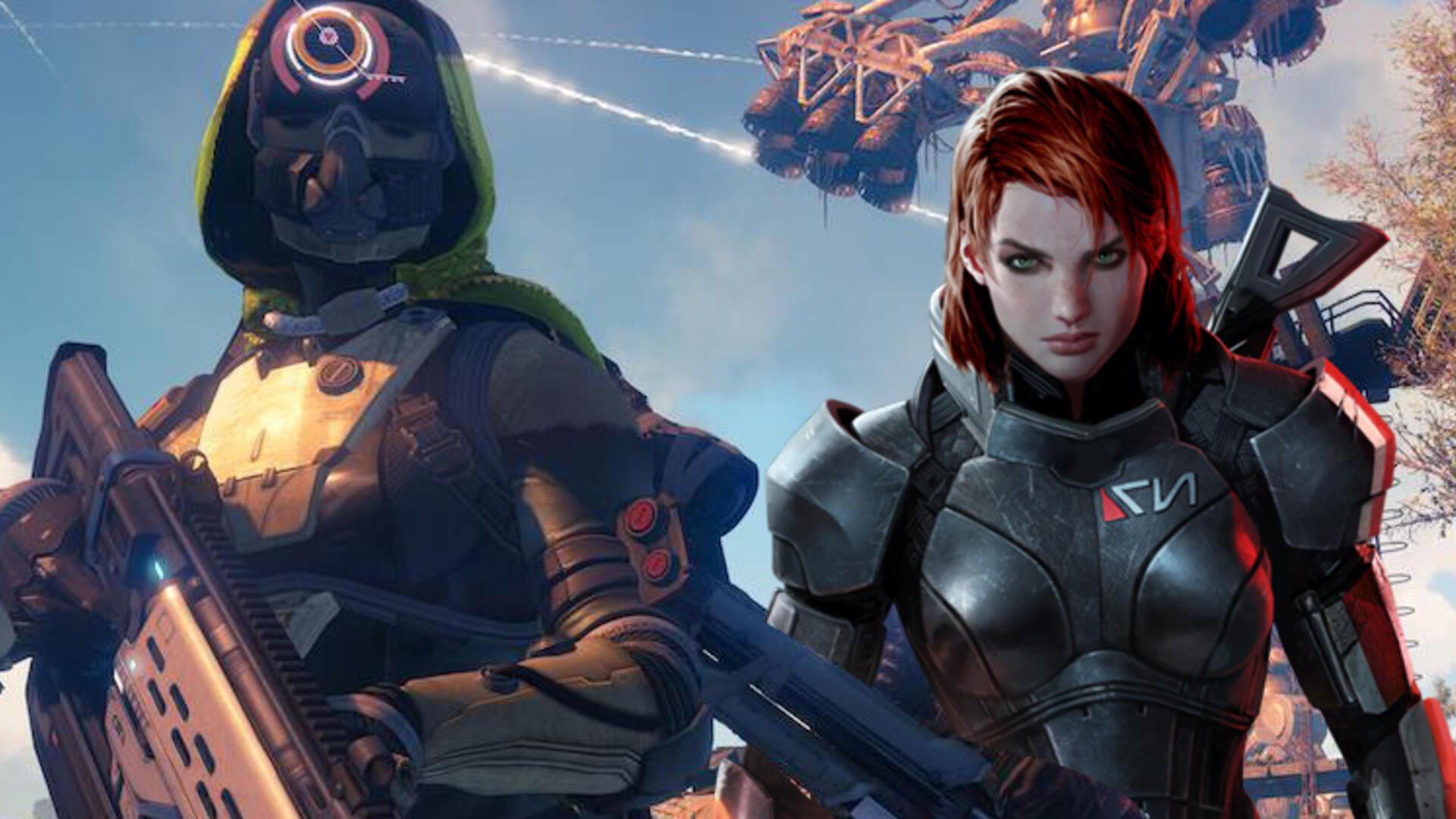 Destiny, Dark Souls, Mass Effect: Three of a Kind (No, Really)