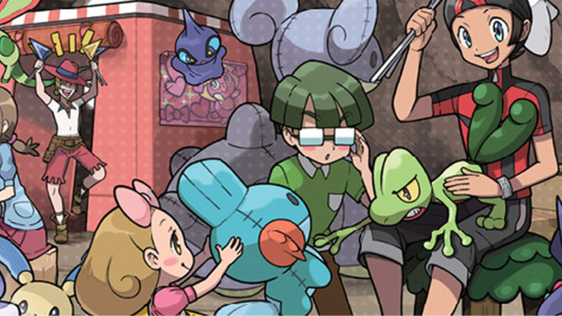 So Does Pokémon Omega Ruby and Alpha Sapphire Include Trainer Customization?