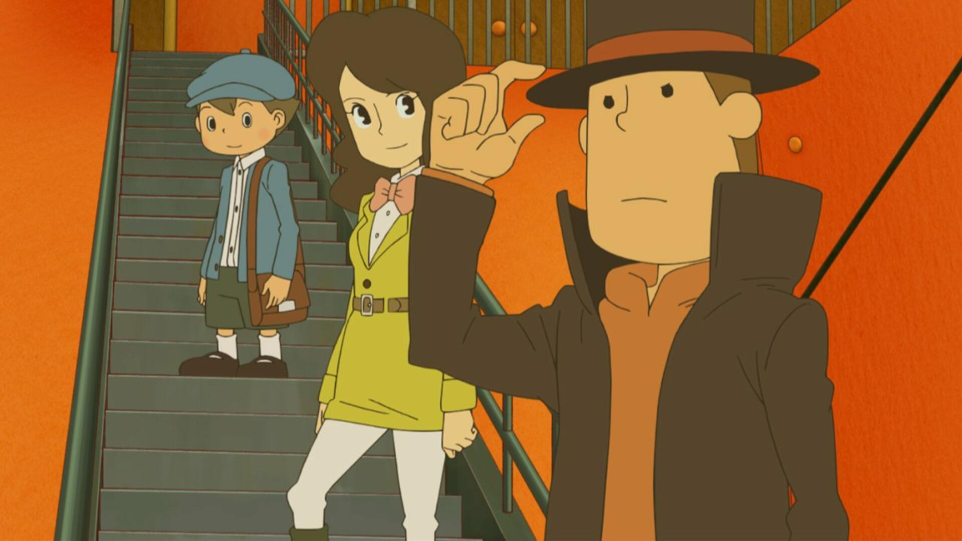 Professor Layton and the Azran Legacy 3DS Review: The Journey's End