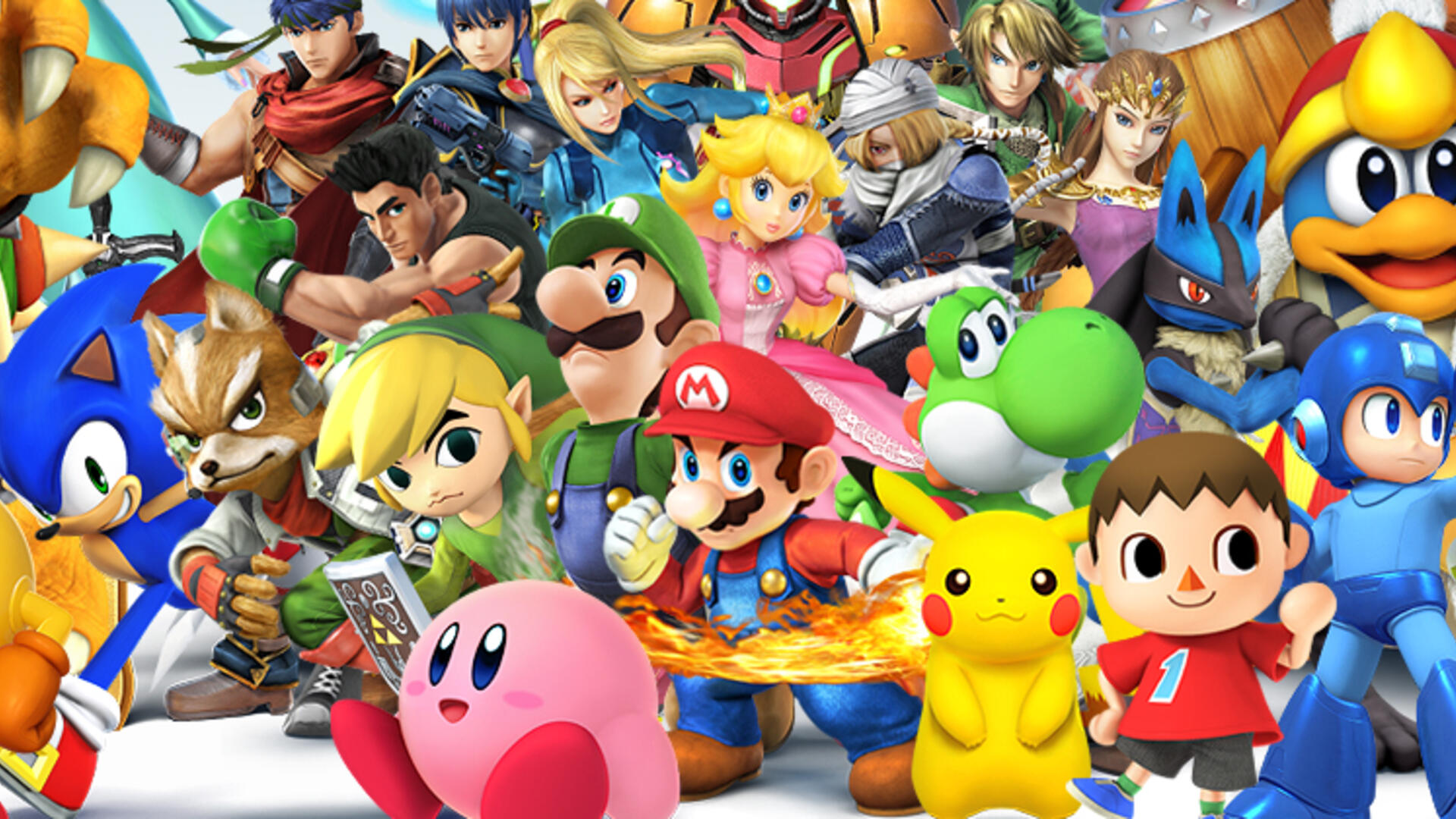 I Played Eight-Player Super Smash Bros. on Wii U (And Won!)