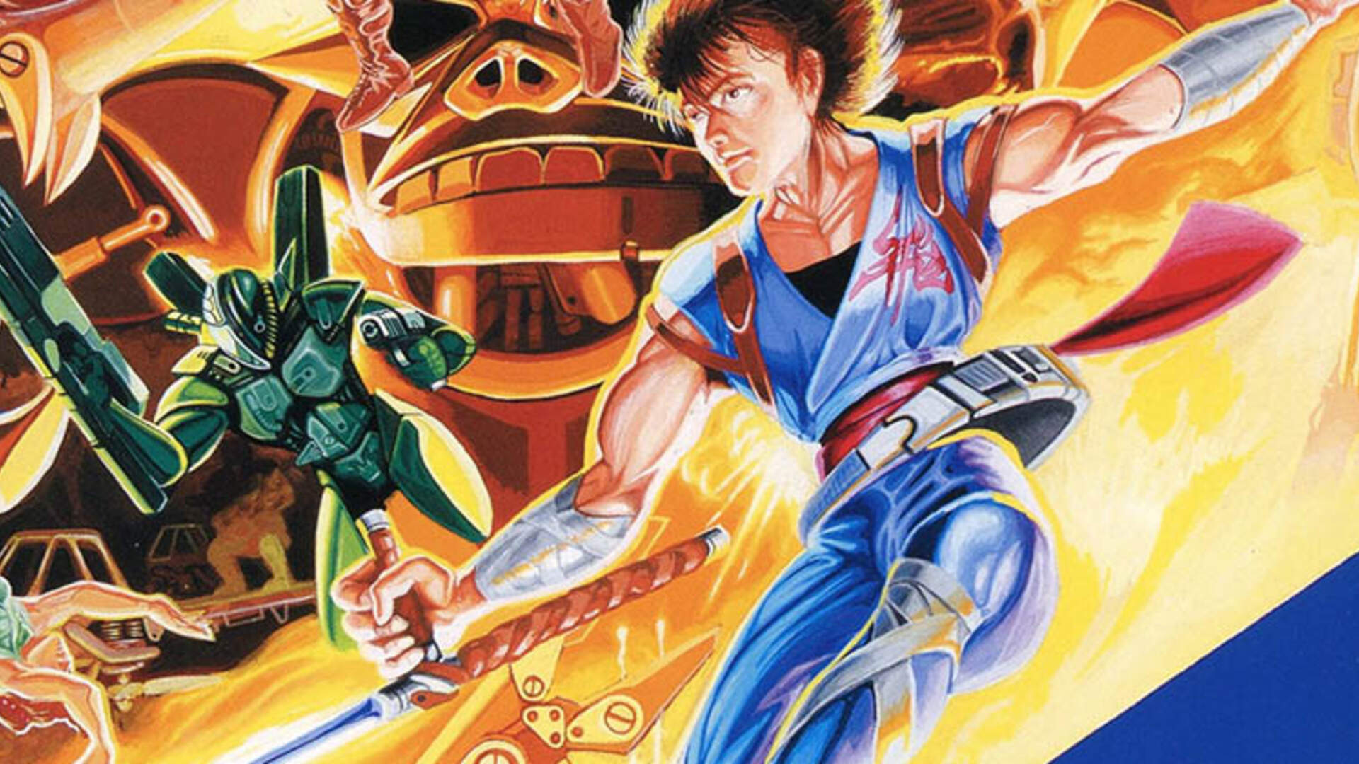 Daily Classic: When Cinematic Games Put Gaming First, Arcades Gave Us Strider