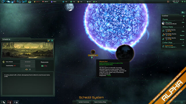 Stellaris takes the Paradox grand strategy model and paints it amongst the stars.