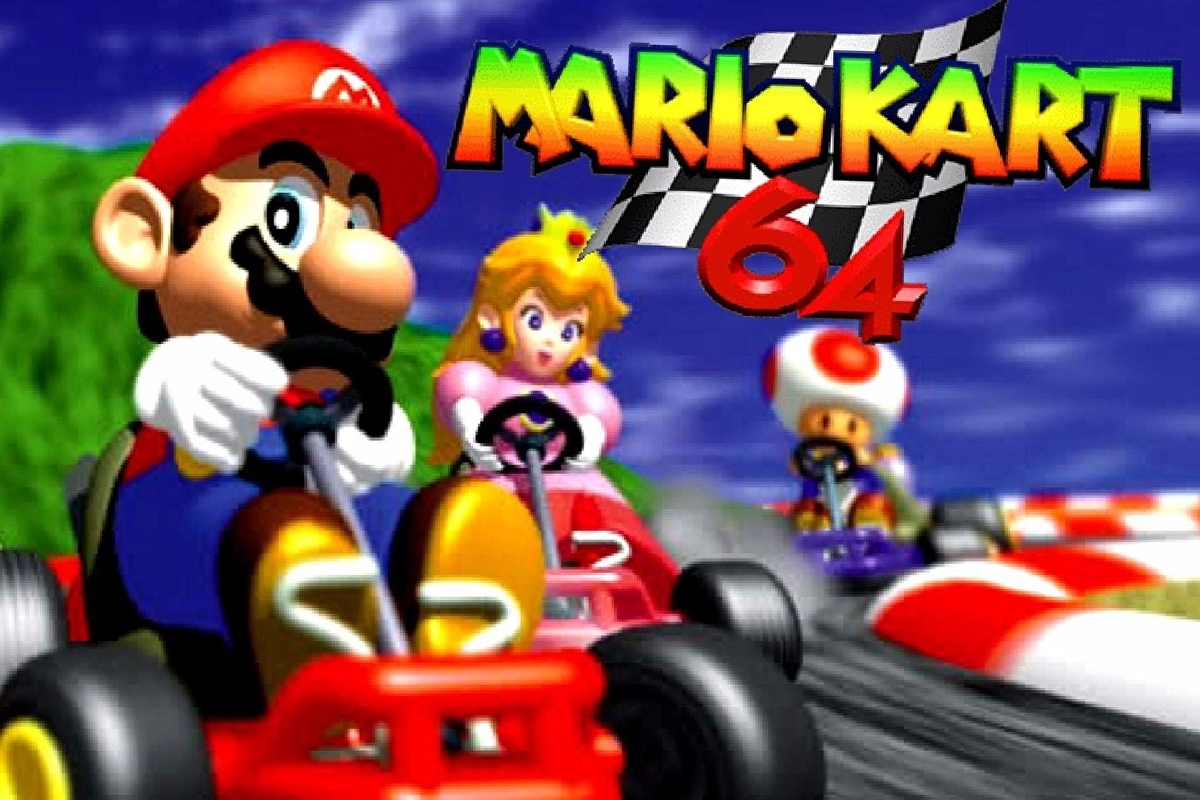Lap up Mario Kart 64 on Wii U Virtual Console this week