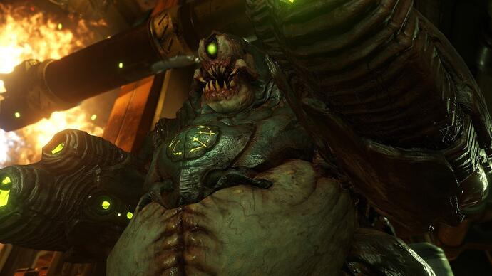 Doom: Conan O'Brien contro un Mancubus in un nuovo video gameplay