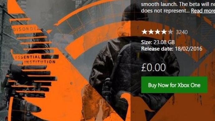 The Division open beta available for early downloadnow