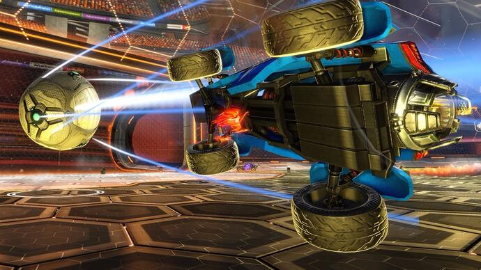 Face-Off: Rocket League