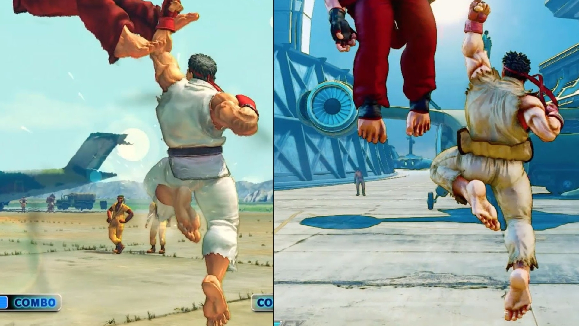 Watch: Let's play Street Fighter 4 and 5 simultaneously