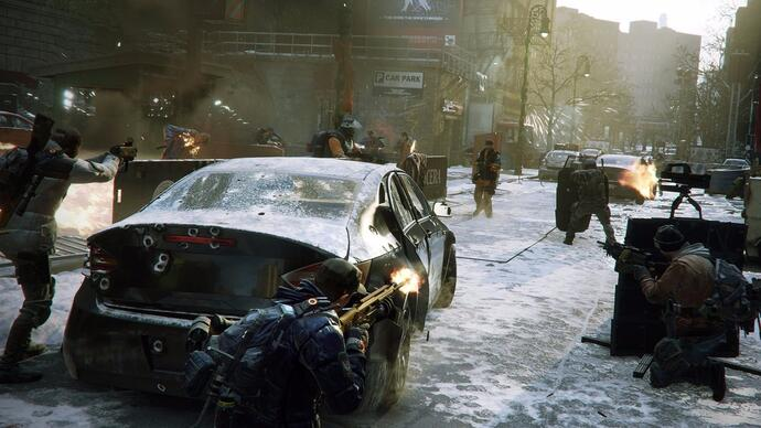 The Division beta sets record with 6.4mplayers