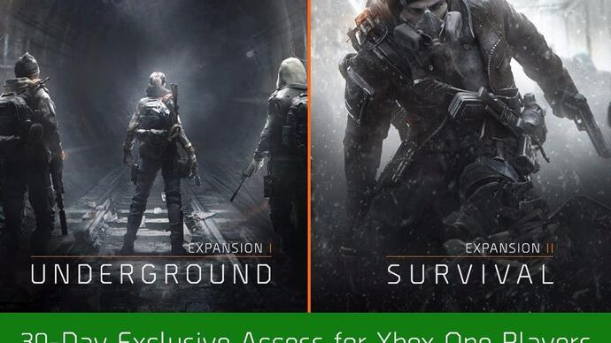 The Division expansions 30 dagen exclusief voor XboxOne