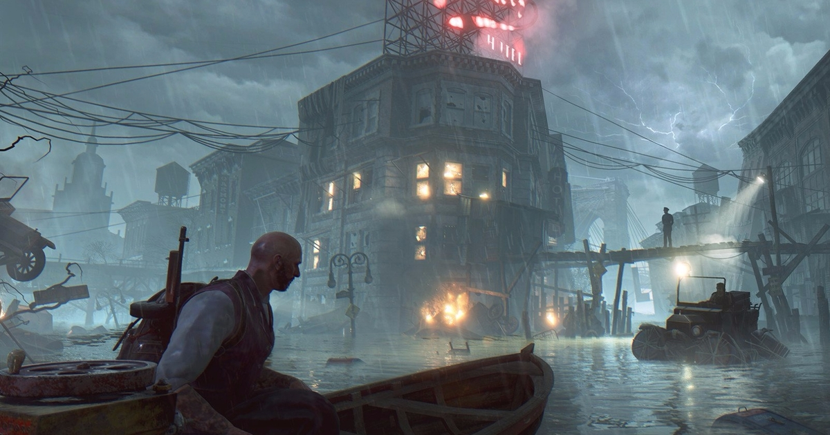 The Sinking City is a promising-looking open-world investigation Lovecraftian game