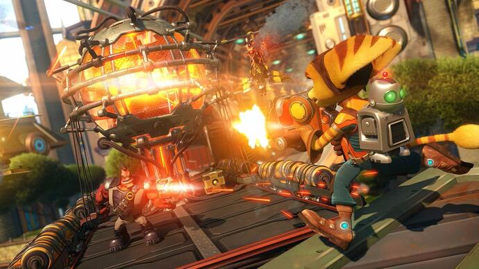 Não percas 3 vídeos gameplay de Ratchet & Clank para PS4