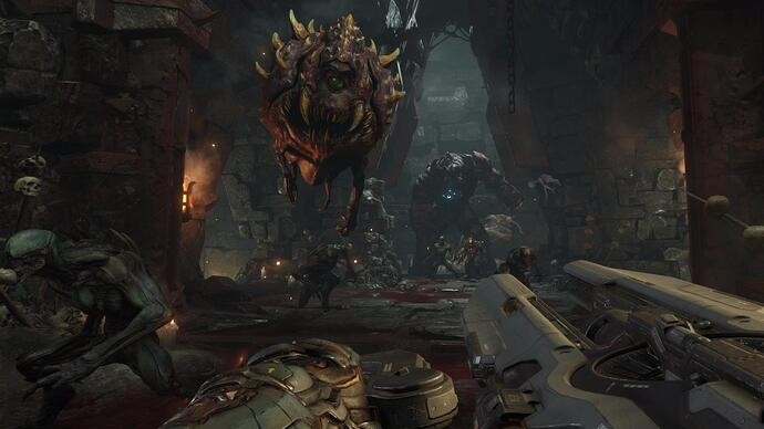 DOOM: un trailer illustra le differenti modalità multiplayer