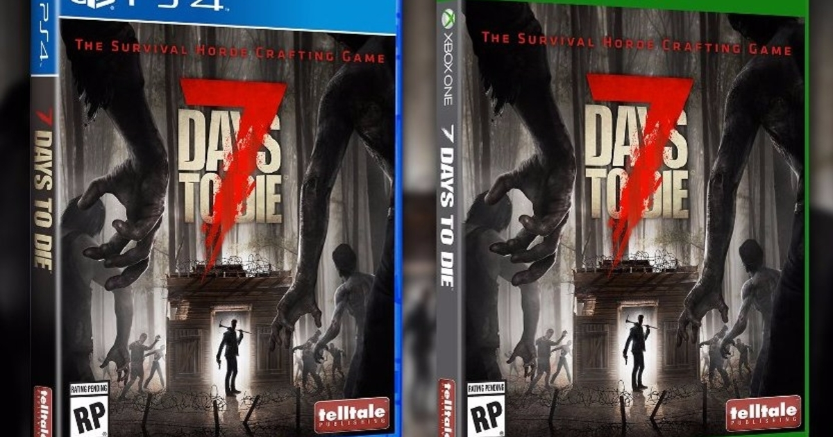 Telltale to publish open world survival game 7 days to die for Cocinar en 7 days to die ps4
