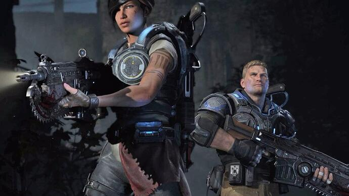 Watch: Ian's playing the Gears of War 4 Beta live at 3:30pm
