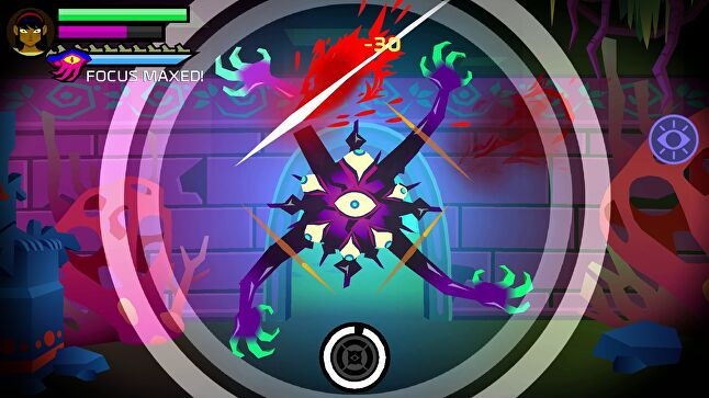 Severed mixes elements of dungeon exploration and Fruit Ninja to create an experience that relies on both touchscreen and physical controls.