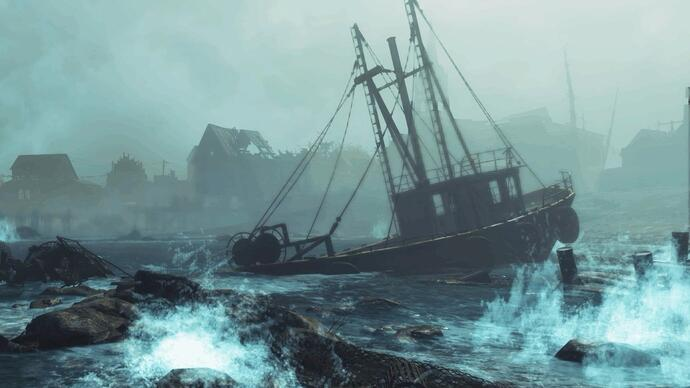 Fallout 4: Far Harbor trailer lands