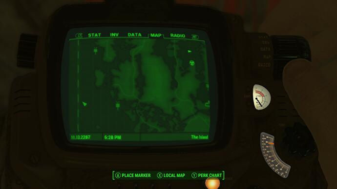 how to get the marine armor in fallout 4 far harbor. Black Bedroom Furniture Sets. Home Design Ideas