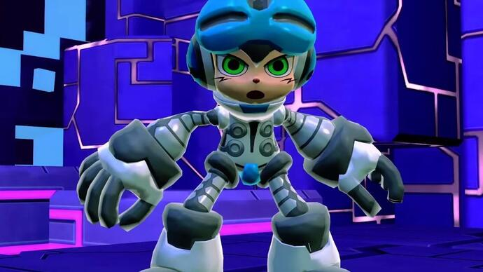Mighty No. 9's new trailer isn't going downwell