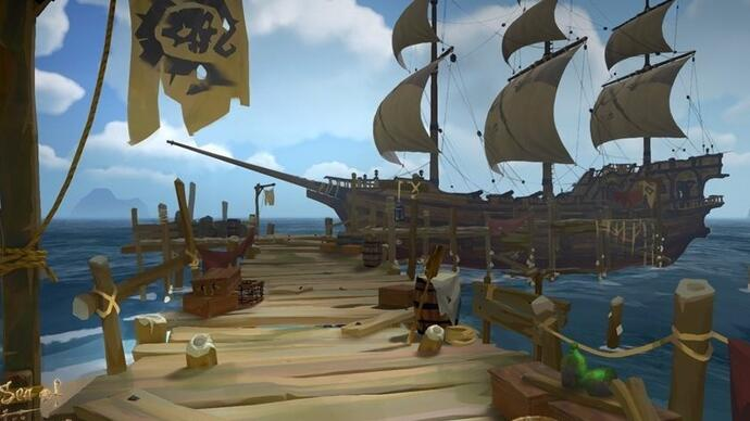 Sea of Thieves multiplayer gameplay sets sail