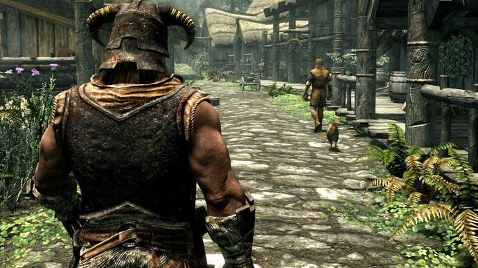 How does the Skyrim remaster compare to the maxed out PC original?