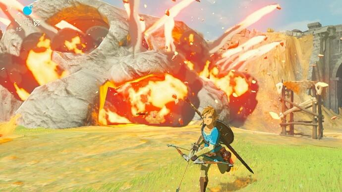 E3 2016 - Eerste The Legend of Zelda: Breath of the Wild gameplay getoond