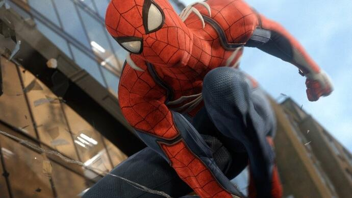Spider-Man: la grafica del trailer di annuncio è tutta in-game