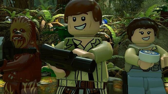 The sales are strong with Lego Star Wars: The ForceAwakens