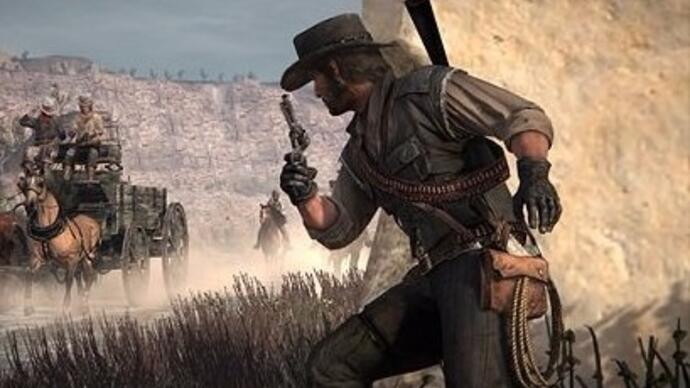 Red Dead Redemption launched via Xbox One back compatibility with most DLCfree