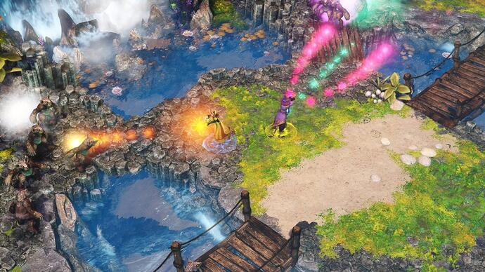 Frozenbyte announces co-op twin-stick wizardry game NineParchments