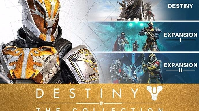 Destiny - The Collection includes all the expansions, costs £50