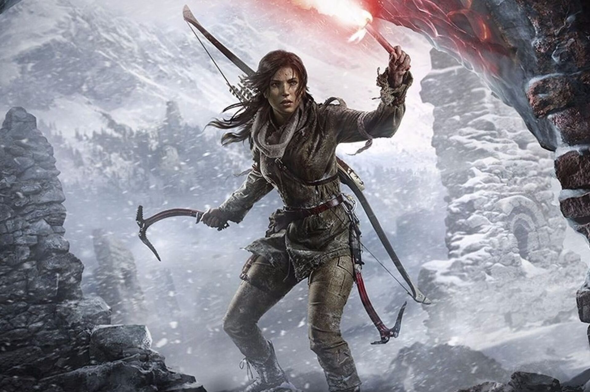 Digital Foundry: Hands on with PS4 Rise of the Tomb Raider