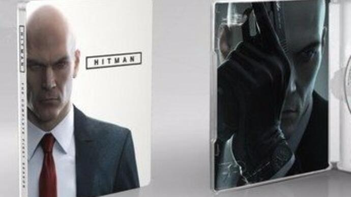 Hitman's complete first season has a disc-based releasedate