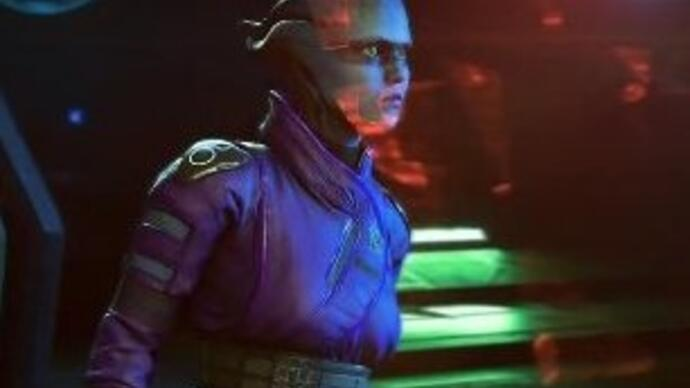 Mass Effect: Andromeda 4K PS4 Pro missiongameplay