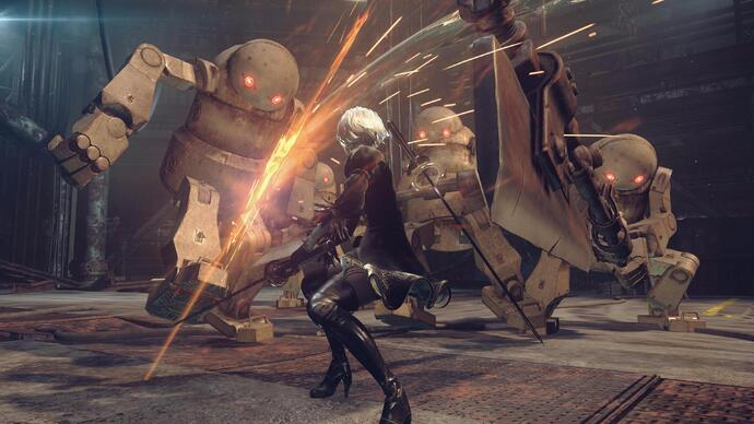 Watch new gameplay footage of Nier: Automata