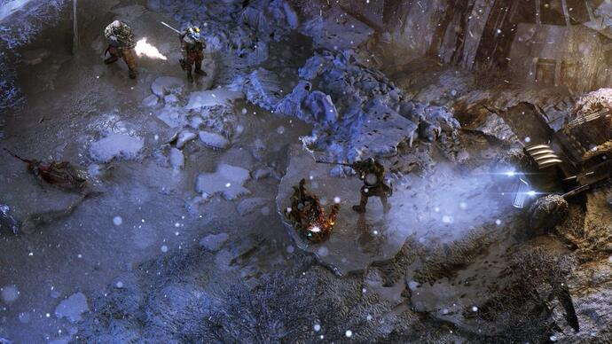 An early look at Wasteland 3gameplay