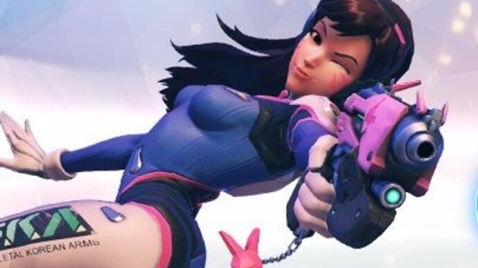 Overwatch's D.Va to be an announcer in Starcraft 2